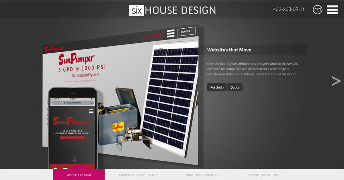 Six House Design (Midland, TX) :: Website Design + Web Apps ...